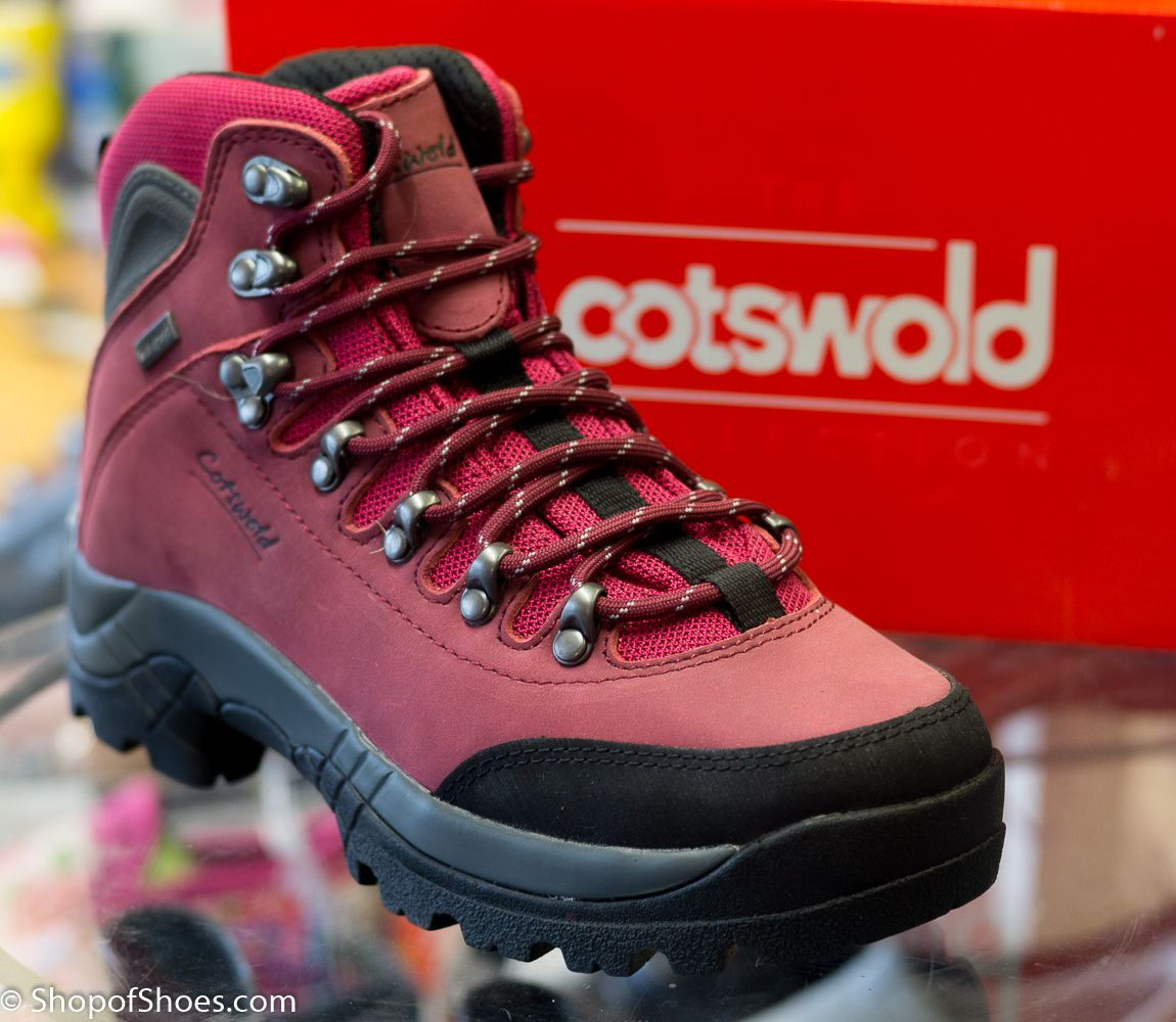 5e39ad45b5a Cotswolds Premium red waterproof leather hiking boot. Cotswold are ...