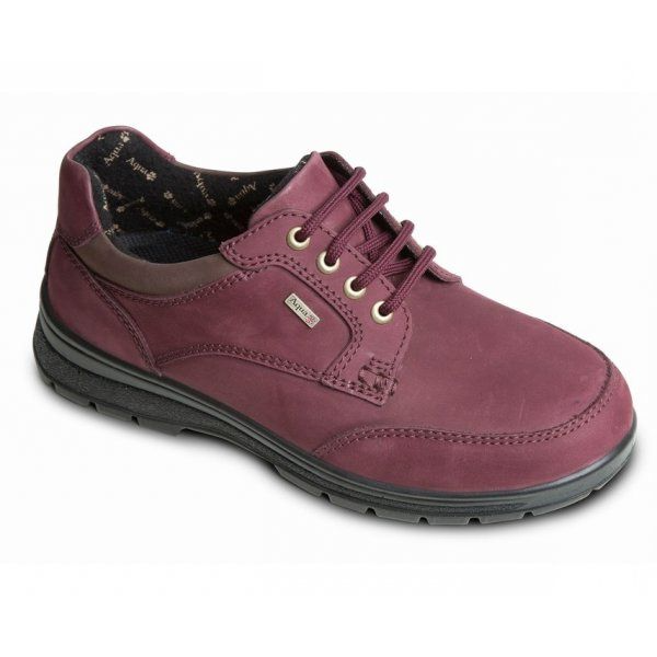 Peak Dual Fit plum waterproof walking shoe